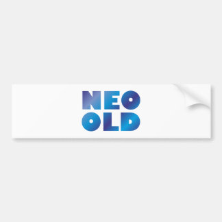 Neo Old Pegatina Para Auto