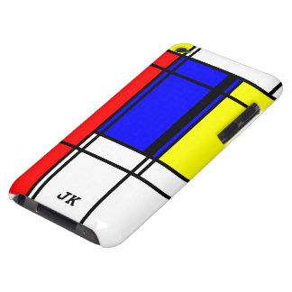 Neo-plasticism Mondrian style Barely There iPod Cases