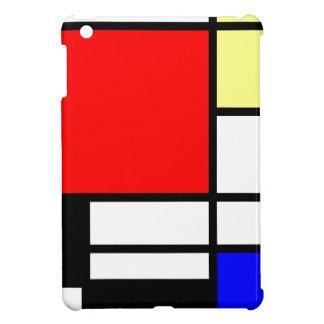 Neo-plasticism Mondrian style Cover For The iPad Mini