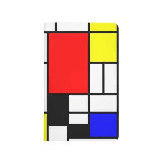 Neo-plasticism Mondrian style Journal