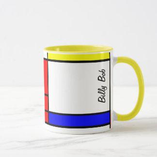 Neo-plasticism Mondrian style Mug