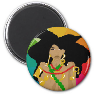 Neo Soulstress 3 (Sketchbook Pro) 2 Inch Round Magnet