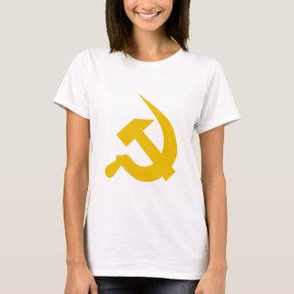 Neo-Thick Dark Yellow Hammer & Sickle T-Shirt