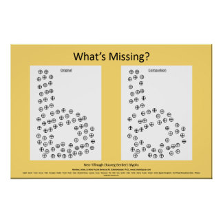"Neo-Tifinagh: ""What's Missing?"" Poster Puzzle b"