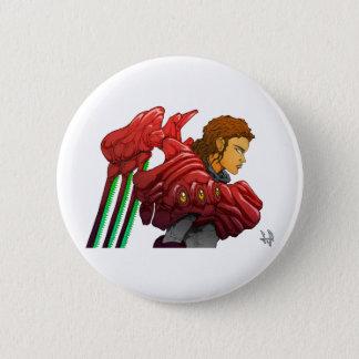 Neo Valkyrie w/ Vision Armor Pinback Button