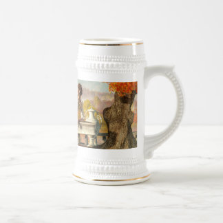 Neoclassical Fall Beer Stein