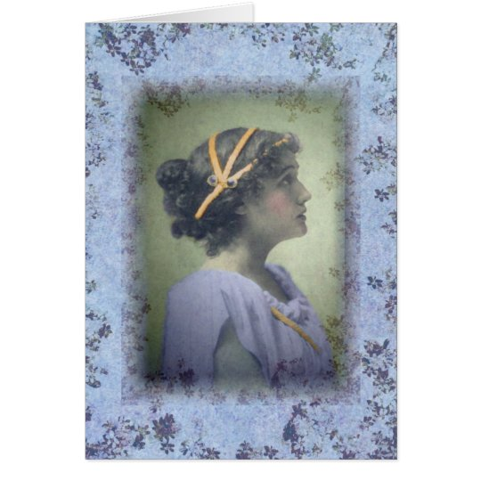 NeoClassical Girl Card