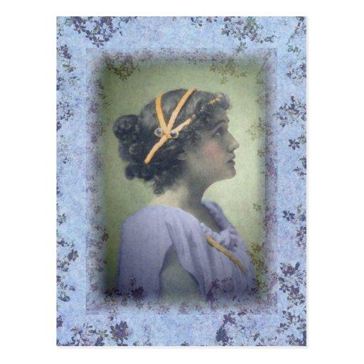 NeoClassical Girl Postcard