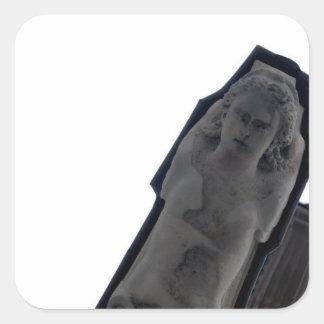 Neoclassical Paris Angel Statue Stickers