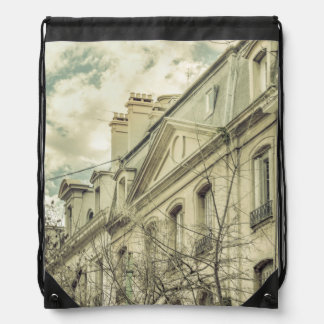 Neoclassical Style Buildings in Buenos Aires, Arge Drawstring Backpack