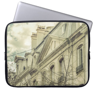 Neoclassical Style Buildings in Buenos Aires, Arge Laptop Sleeve