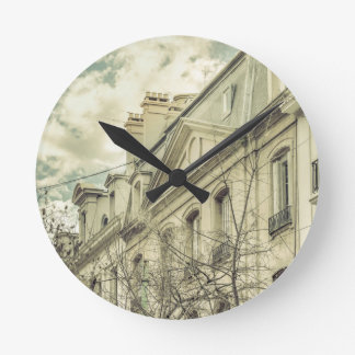 Neoclassical Style Buildings in Buenos Aires, Arge Round Clock