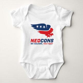 Neocon Chickenhawk Logo Baby Bodysuit