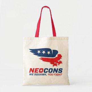 Neocon Chickenhawk Logo Budget Tote Bag