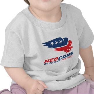 Neocon Chickenhawk Logo Shirts