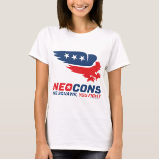 Neocon Chickenhawk Logo T-Shirt