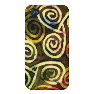 NeoLithic Cave Art iPhone Case