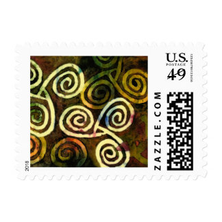Neolithic Cave Art Postage