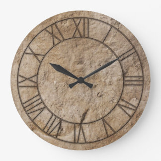 Neolithic Stone Age Wall Clock
