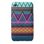 Neon 2 Modern Tribal iPhone 3/3GS Case-Mate Ca iPhone 3 Case