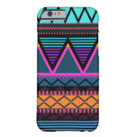 Neon 2 Modern Tribal iPhone 6 Barely There iPhone 6 Case