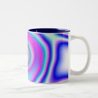 Neon 5 Two-Tone coffee mug