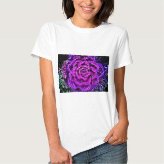 neon-660986  PURPLE BLACK ROSES  ABSTRACT RANDOM B T-Shirt