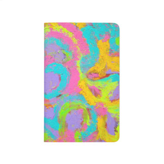 Neon Abstract - Abstract Art Handpainted Journal