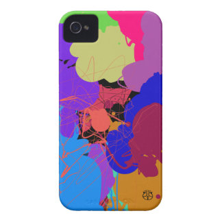 Neon Abstract Blackberry Bold Case