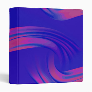 Neon Abstract Wave Binder