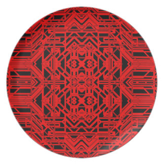 Neon Aeon 12 Party Plate