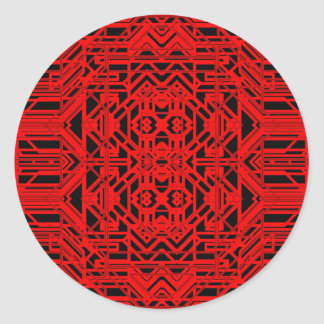 Neon Aeon 12 Round Sticker