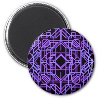 Neon Aeon 1 2 Inch Round Magnet