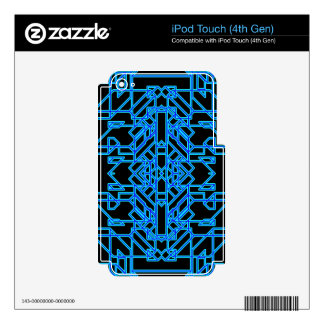 Neon Aeon 4 iPod Touch 4G Decal