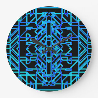 Neon Aeon 4 Large Clock