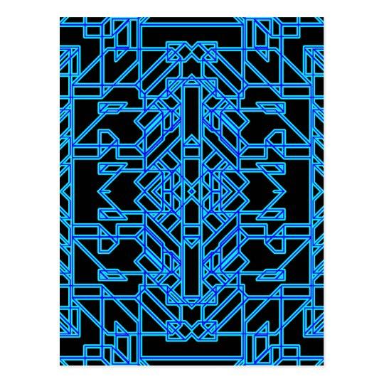 Neon Aeon 4 Postcard