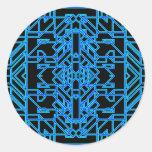 Neon Aeon 4 Round Sticker