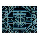 Neon Aeon 5 Post Card
