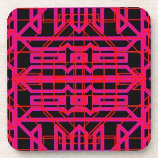 Neon Aeon 6 Drink Coasters
