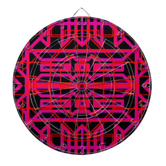 Neon Aeon 6 Dartboard With Darts