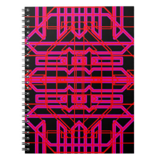 Neon Aeon 6 Spiral Note Books