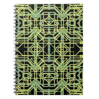 Neon Aeon 8 Note Book