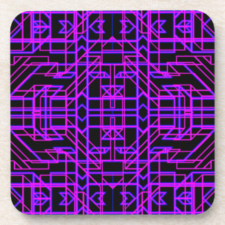 Neon Aeon 9 Coasters