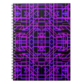 Neon Aeon 9 Spiral Notebooks