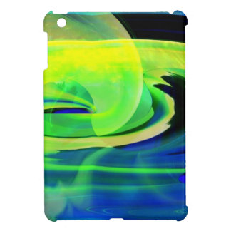 Neon Alien Landscape Abstract Case For The iPad Mini
