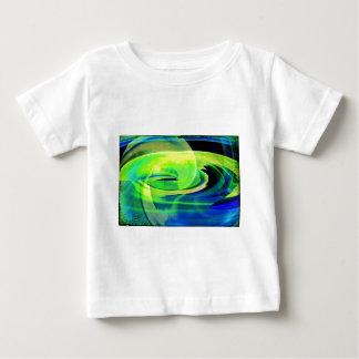 Neon Alien Landscape Abstract Tee Shirt