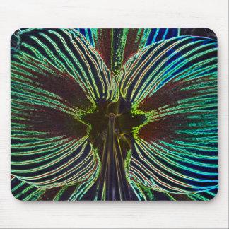 Neon Amaryllis Mouse Pad
