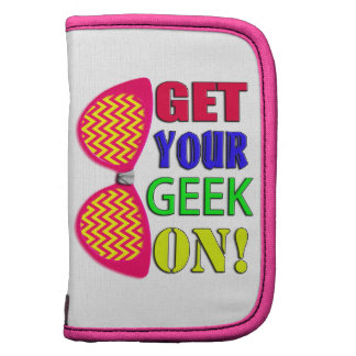 Neon and Bright Color Get Your Geek On Glasses Planner