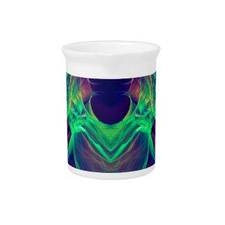 Neon Angel.JPG Beverage Pitcher