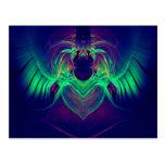 Neon Angel.JPG Postcard